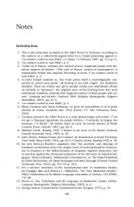 Notes to Introduction 181