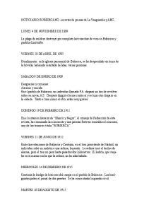 NOTICIARIO BUBIERCANO recortes de prensa de La Vanguardia y ABC-