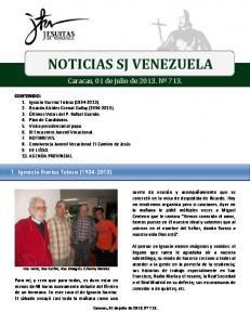 NOTICIAS SJ VENEZUELA