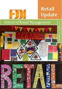 NOV Retail Update. School of Retail Management