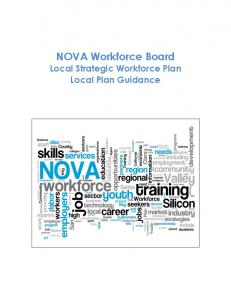 NOVA Workforce Board Local Strategic Workforce Plan Local Plan Guidance