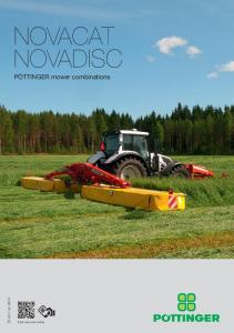 NOVACAT NOVADISC. PÖTTINGER mower combinations en Find out more online