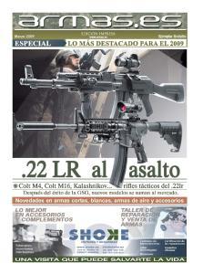 Novedades en armas cortas, blancas, armas de aire y accesorios
