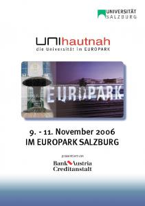 November 2006 IM EUROPARK SALZBURG