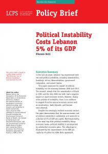 November 2012 Number 03. Policy Brief