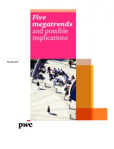 November Five megatrends and possible implications