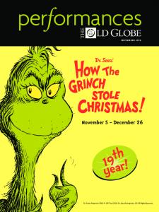 NOVEMBER November 5 December th. year! Dr. Seuss Properties TM & 1957 and Dr. Seuss Enterprises, L.P. All Rights Reserved