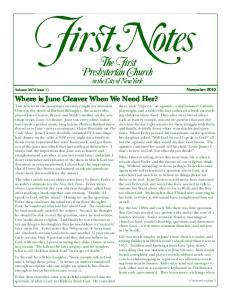 November Volume XVIII Issue 11