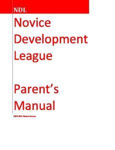 Novice Development League