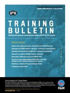 Novidades sobre educação e treinamento para membros da PADI ao redor do mundo