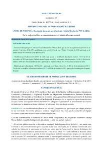 (noviembre 23) Diario Oficial No de 1 de diciembre de 2011 SUPERINTENDENCIA DE NOTARIADO Y REGISTRO