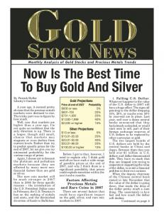 Now Is The Best Time To Buy Gold And Silver