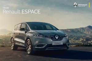 Nowe. Renault ESPACE