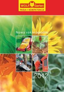 Nowy rok w ogrodzie 2012