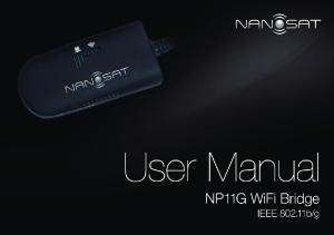 NP11G WiFi Bridge User Manual