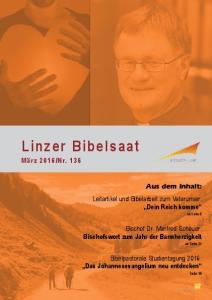 Nr Aus dem Inhalt: Leitartikel und Bibelarbeit zum Vaterunser: Dein Reich komme