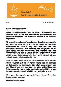 Nr bis 28. April 2013