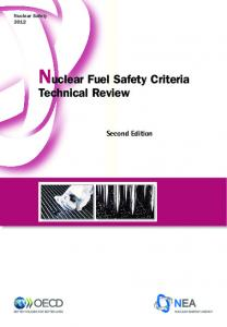 Nuclear Fuel Safety Criteria