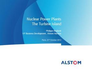 Nuclear Power Plants The Turbine Island