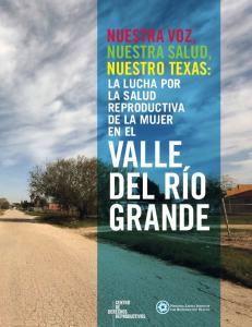 Nuestra Voz, Nuestra Salud, Nuestro Texas: La lucha por la salud reproductiva de la mujer en el