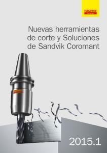 Nuevas herramientas de corte y Soluciones de Sandvik Coromant