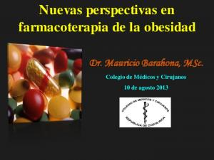 Nuevas perspectivas en farmacoterapia de la obesidad