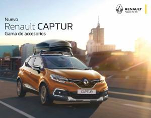Nuevo. Renault CAPTUR. Gama de accesorios