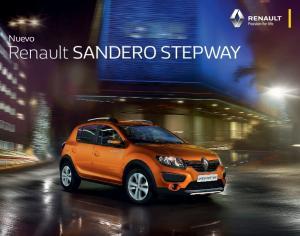 Nuevo. Renault SANDERO STEPWAY