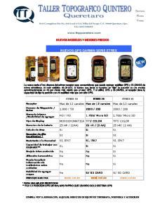 NUEVOS MODELOS Y MEJORES PRECIOS NUEVOS GPS GARMIN SERIE ETREX