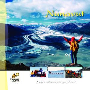 Nunavut Closer than you think