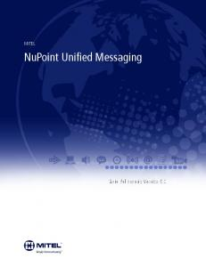 NuPoint Unified Messaging