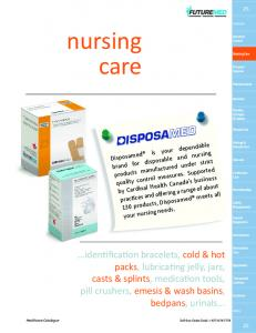 nursing care ISPOSAMED