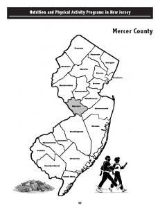 Nutrition and Physical Activity Programs in New Jersey. Mercer County