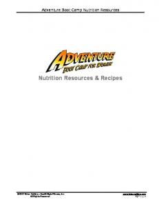 Nutrition Resources & Recipes