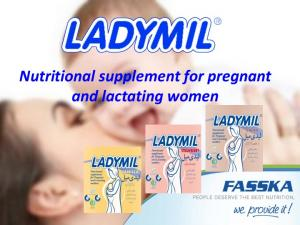 Nutritional supplement for pregnant and lactating women