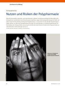 Nutzen und Risiken der Polypharmazie