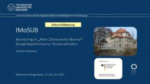 Nutzerverhalten. Entwurfsfassung. Clemens Felsmann