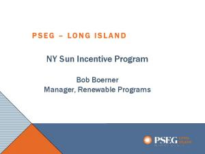 NY Sun Incentive Program