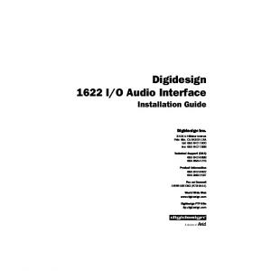O Audio Interface Installation Guide