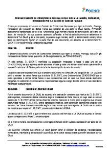 O EJECUCIÓN DE CARTAS FIANZAS