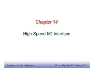 O Interface - P. 1