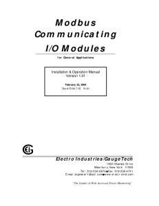 O Modules