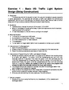 O: Traffic Light System Design (Delay Construction)
