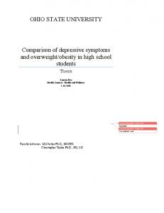 obesity in high school students