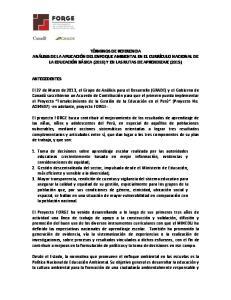 OBJETIVO DE LA CONSULTORIA