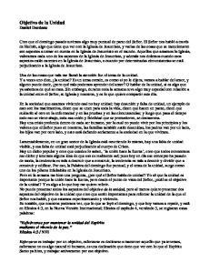 Objetivo de la Unidad Daniel Dardano