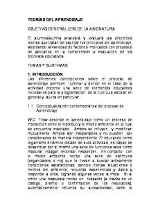 OBJETIVO GENERAL (ES) DE LA ASIGNATURA
