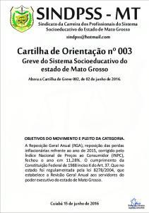 OBJETIVOS DO MOVIMENTO E PLEITO DA CATEGORIA
