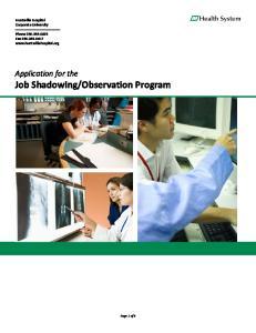 Observation Program