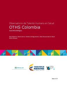 Observatorio de Talento Humano en Salud. Observatorio de Talento Humano en Salud - OTHS